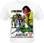 Judge Dredd Justice T-Shirt