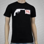 Juliette  The Licks Gun Black T-Shirt