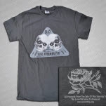 Kid Dynamite Double Skull Charcoal T-Shirt