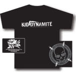 Kid Dynamite Skull Black T-Shirt