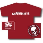 Kid Dynamite Skull Red T-Shirt