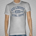 Kid Liberty Gym Class Zeroes Heather Gray T-Shirt