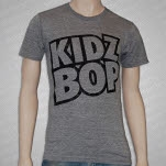 Kidz Bop Logo Tri heather T-Shirt
