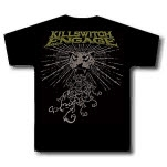 Killswitch Engage Leopard Black T-Shirt