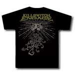 Killswitch Engage Leopard Black T-Shirt