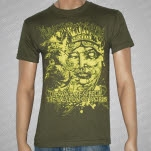 Knives Exchanging Hands The War Of Speech Army Green T-Shirt
