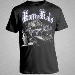 Koffin Kats Ghost Hearse Black T-Shirt