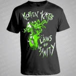 Koffin Kats Laws of Sanity Black T-Shirt