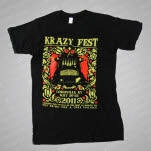 Krazy Fest Shirts For A Cure Black T-Shirt