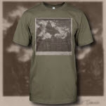 Kurt Travis Album Art Army Green T-Shirt