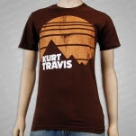 Kurt Travis Frontiers Brown T-Shirt
