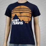Kurt Travis Frontiers Navy T-Shirt