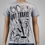 Kurt Travis Sever Heather Grey T-Shirt