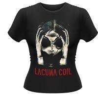 Lacuna Coil Head Girlie T-Shirt