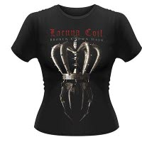 Lacuna Coil Broken Crown Halo Girlie T-Shirt