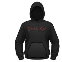 Lacuna Coil Broken Crown Halo Hooded Sweat Shirt