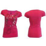 La Ink Pink Flame T-Shirt