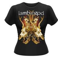 Lamb Of God Tangled Bones Girlie T-Shirt