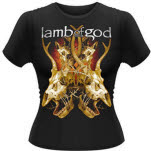 Lamb Of God Tangled Bones Girlie T-Shirt