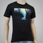 Landscapes Road Black T-Shirt
