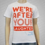 Laughing At My Nightmare Were After Your Laughter White T-Shirt