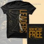 Leaders Freedom Black T-Shirt