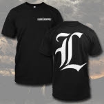 Leaders L Logo Black T-Shirt