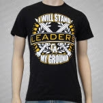 Leaders Stand My Ground Black T-Shirt