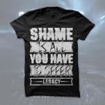 Legacy Shame Black T-Shirt