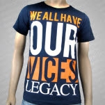 Legacy Vices Navy T-Shirt