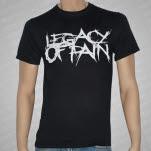 Legacy of Pain Logo Black T-Shirt