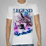 official Legend Seamonster White T-Shirt