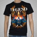 Legend Skulls Black T-Shirt
