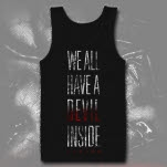 Legion Devil Inside Black Tank Top