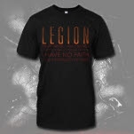 Legion Dear Father Black T-Shirt
