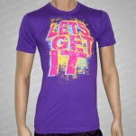 Lets Get It Space Odyssey Purple T-Shirt