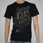 Letter To The Exiles Island Black T-Shirt