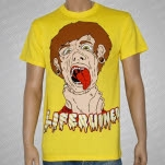 Liferuiner Laid To Waste Yellow T-Shirt