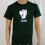 Lifetime Money Is Cool Forest Green T-Shirt