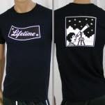 Lifetime Flag And Telescope Navy T-Shirt