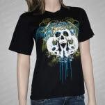 Ligeia Skull Black T-Shirt