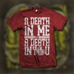 Like Moths To Flames A Death In Me Red T-Shirt