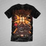 Like Moths To Flames Demon Black T-Shirt