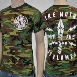 Like Moths To Flames Eye For An Eye Camo T-Shirt