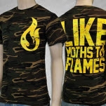 Like Moths To Flames Flame Camo T-Shirt