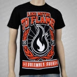 Like Moths To Flames I Solemnly Swear Black T-Shirt