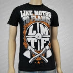 Like Moths To Flames Promise Black T-Shirt