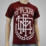 Like Moths To Flames Reef Crest Maroon T-Shirt