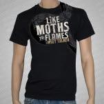 Like Moths To Flames Sweet Talker Black T-Shirt