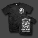 Like Moths To Flames Swords Black T-Shirt